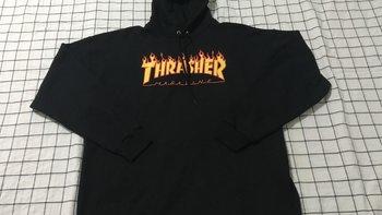 Thrasher卫衣使用总结(性价比|款式|价格)