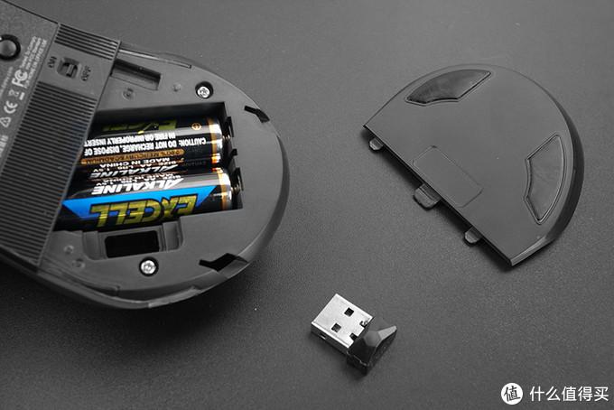 Dareu 达尔优 LM128B 双模无线鼠标 拆解开箱