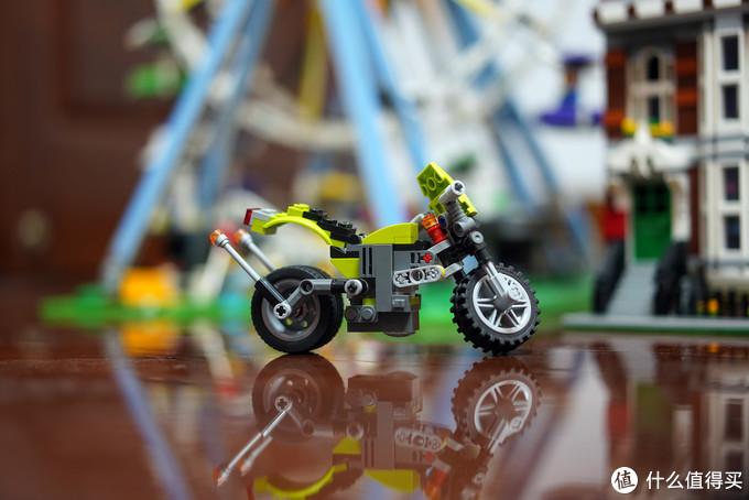 名创优品MINISO摩托车积木晒单