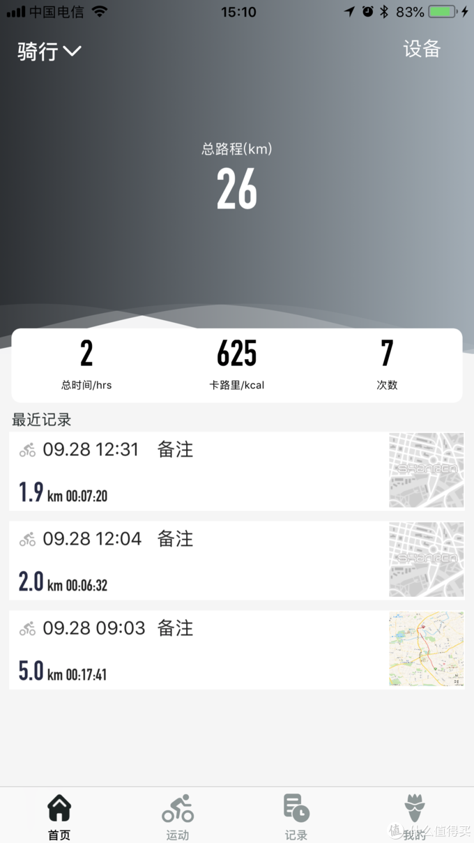 骑行数据一屏掌握,不怕迷路不怕黑!山人DISCOVERY Pro智能GPS码灯使用体验