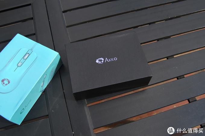 Tiffany蓝配色外设套装—AKKO X DUKCY 3087 机械键盘 + AG325 鼠标 晒单