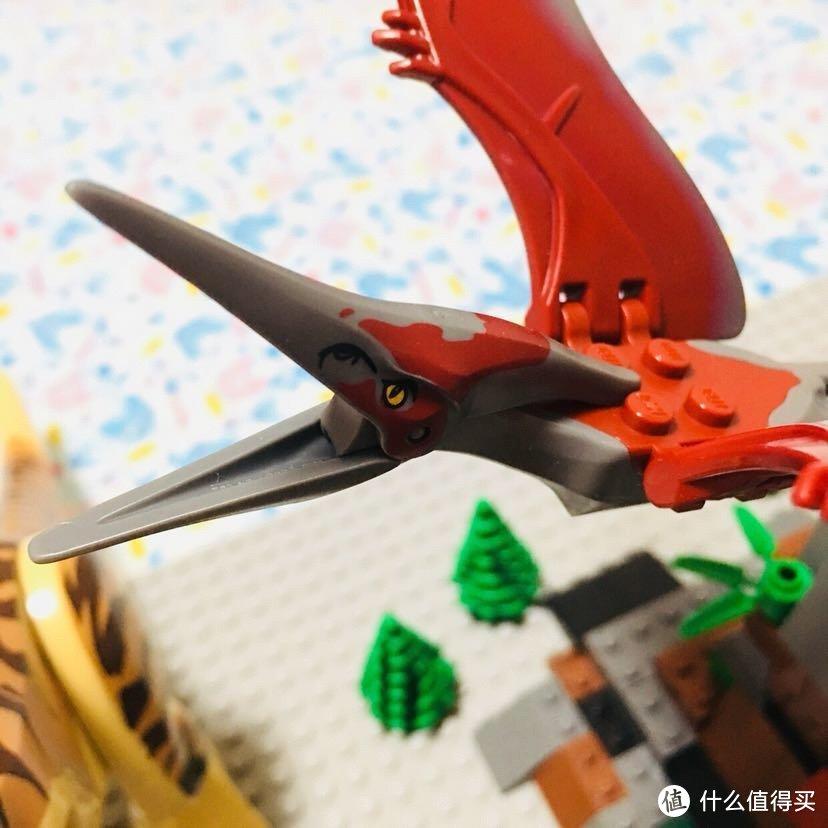 我的LEGO侏罗纪小世界—乐高侏罗纪世界系列恐龙配件晒单