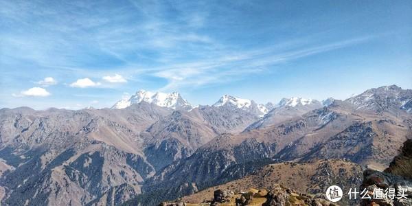 马牙山顶端雪景