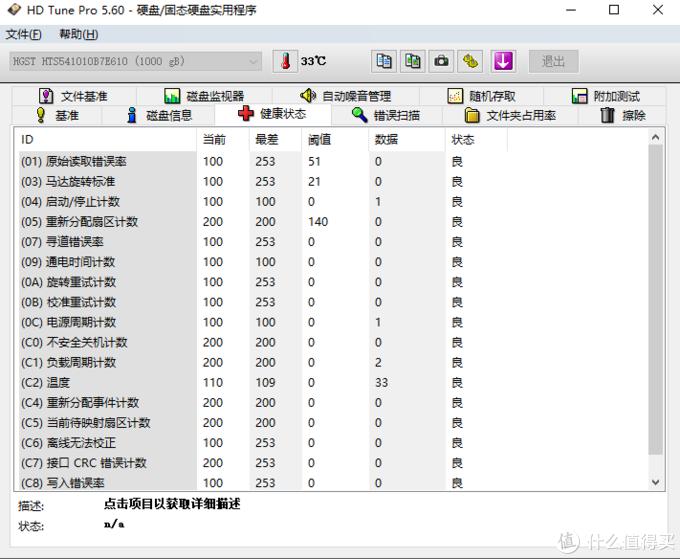 HDD换SSD,是倒退还是安稳?接替宇瞻翻车豹,HGST2.5寸1THDD开箱