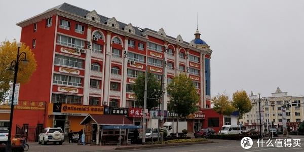 俄罗斯建筑风格的布尔津