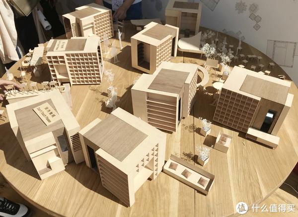 展厅的微型模型