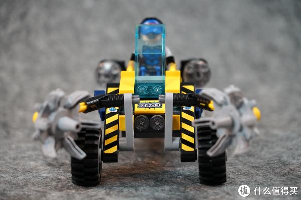 配色舒适的科幻朋克:ENLIGHTEN 启蒙 晶石小队系列 2403 碎石开路先锋评测