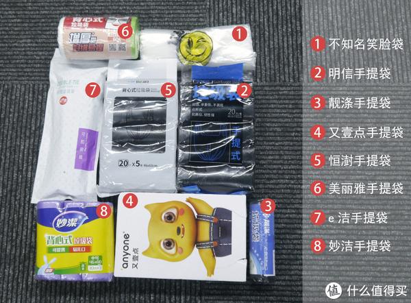 8款手提垃圾袋测评 谁是性价比之王?