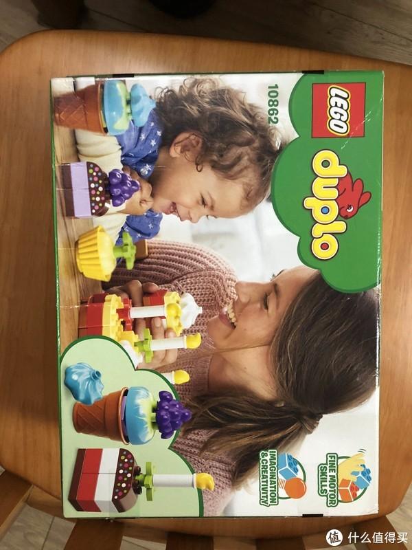 我的第一次庆祝—Lego 乐高 得宝 10862 美味蛋糕大拼装