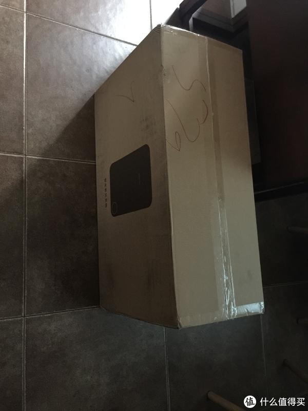 智米挂壁新风玻璃安装记