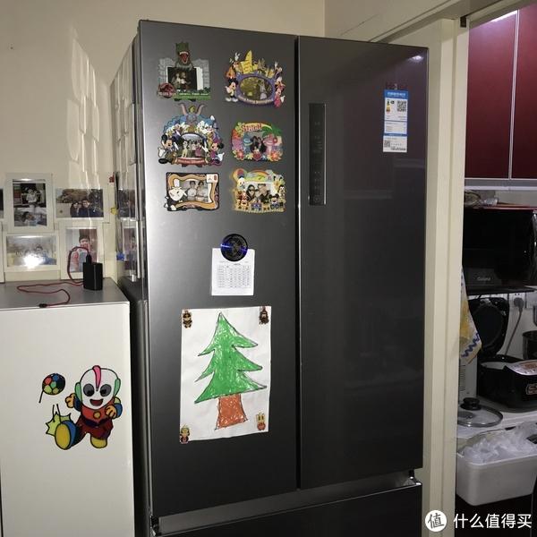 Haier 海尔 BCD-453WDVS 453升 无霜变频四门冰箱开箱