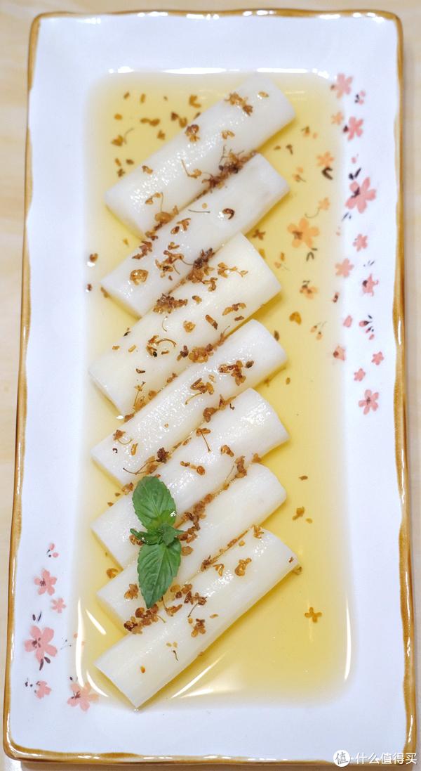 如何做出一盘秒杀餐厅出品的传统中式甜品:Chinese Yam with Osmanthus Sauce