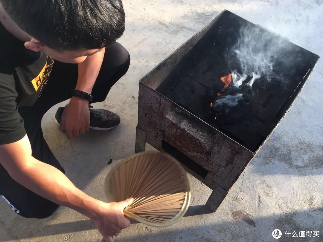 分享一场500元搞定的20人家庭烧烤