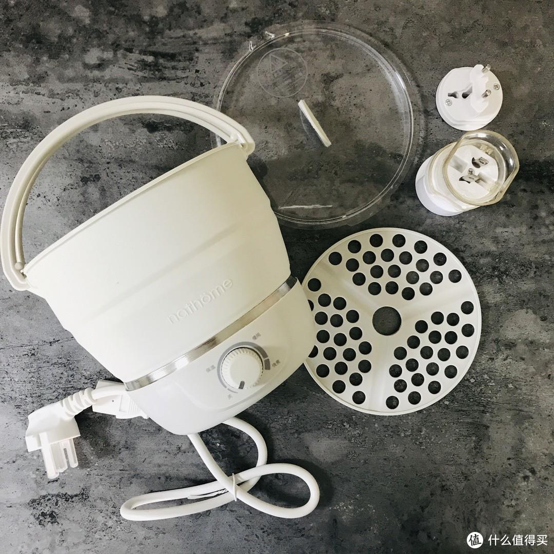 nathome北欧欧慕折叠电煮锅?不如说是折叠烧水壶吧!