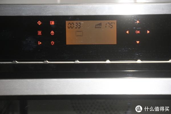先试试175度,预热时设置33分钟后面可以调整
