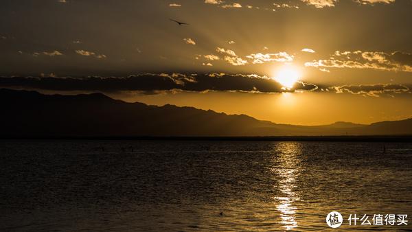 卡鲁克湖夕阳