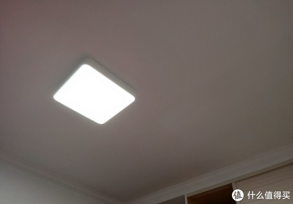 Yeelight 新品,皓石智能LED吸顶灯Plus开箱晒物