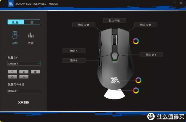 XANOVA 星极 灵机XM380PRO游戏鼠标+星夜XP330P-S树脂垫评测