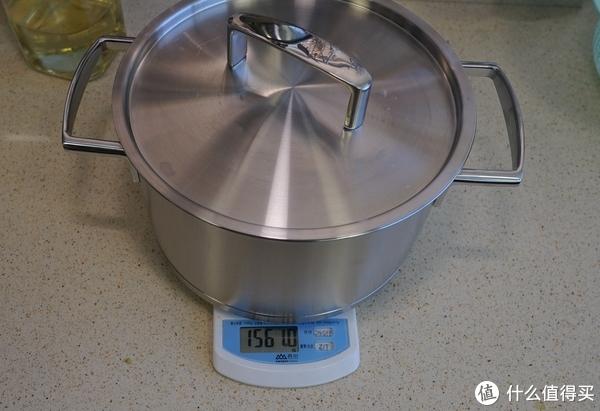 锅重1.56kg比较适中