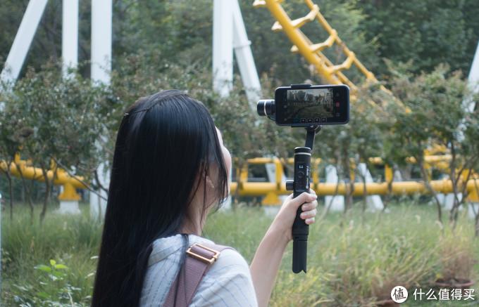 稳住你眼中的世界:飞宇科技 星刃spg2 手持手机稳定器体验