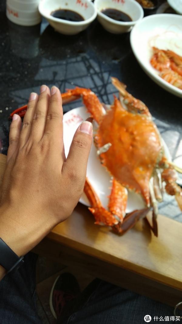 晚餐大螃蟹