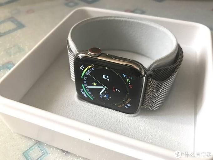 今年的苹果表还挺抢手—Apple Watch s4白不锈钢购买经历及晒物