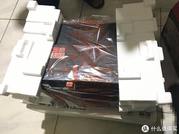防暴力装卸专用!其实外包装之外,还有充气垫+纸箱