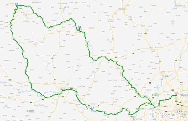 总行程五天,从广州出发,去程经贺州到阳朔,回程经梧州肇庆回广州,全路程共1000公里