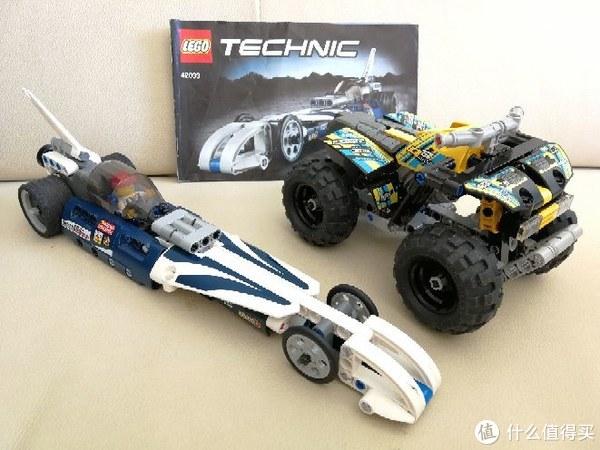 LEGO 乐高 42033 巅峰赛车晒单
