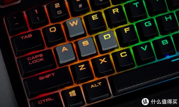 美商海盗船 STRAFE RGB MK.2 机械键盘 开箱分享