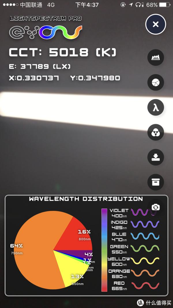 最低光线 色温5018 暖光偏橘