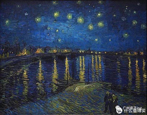 《罗纳河上的星夜》