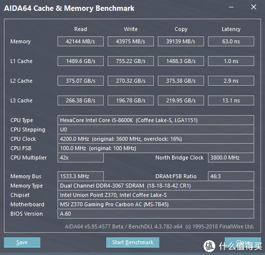 Gloway 光威 TYPE-α DDR4-2666 内存条 超频体验,支持XMP2.0