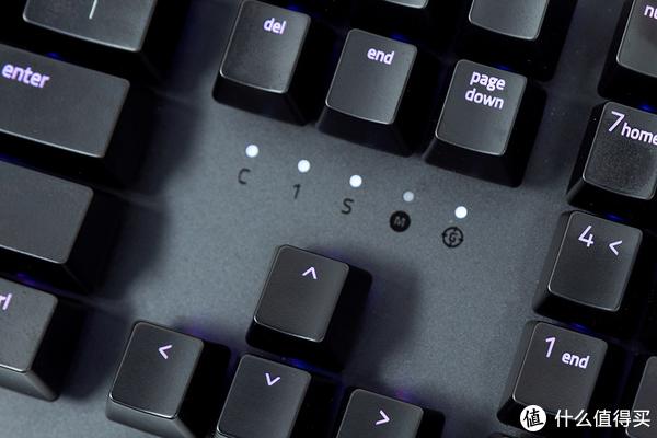 Razer 雷蛇 猎魂光蛛机械键盘—紫色光轴全新体验