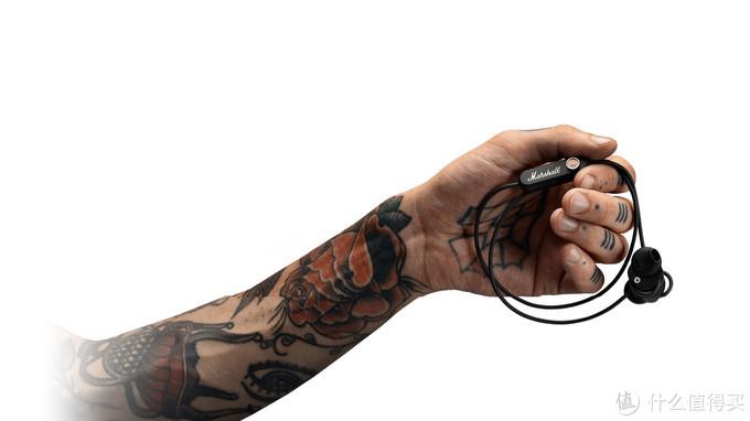 酷劲十足的蓝牙耳塞:Marshall 马歇尔 发布 MINOR II BLUETOOTH 蓝牙半入耳式耳机