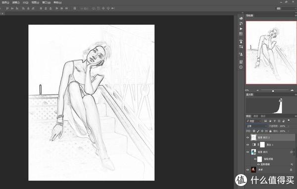将照片做成手绘笔画的效果步骤详解