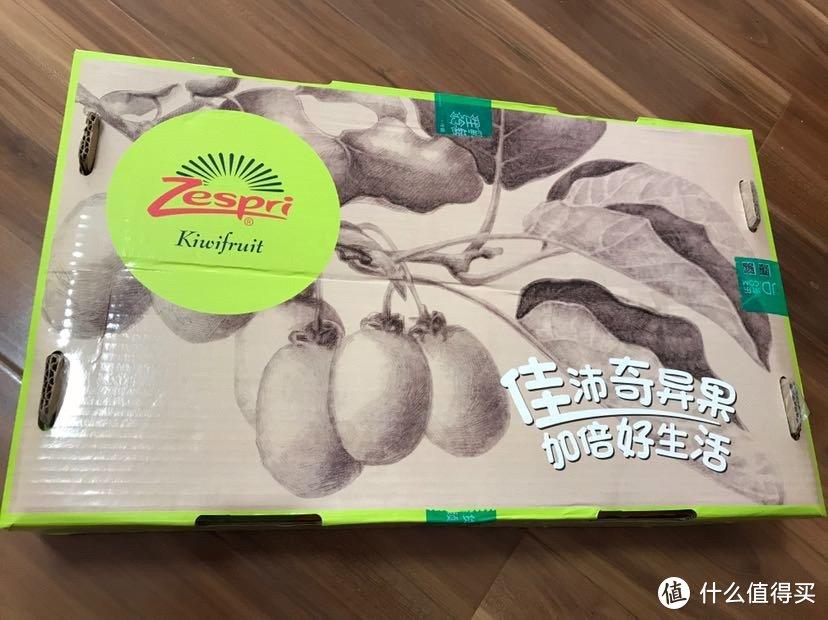 新西兰 Zespri 佳沛金奇异果原装箱巨大果开箱吃后感