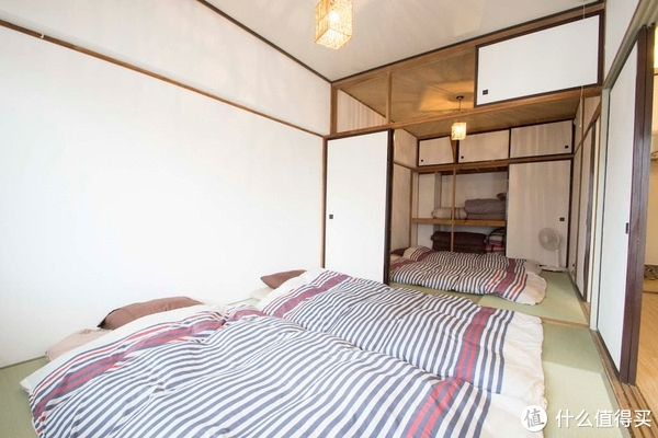 比如这样的,虽然挺有日式风格的,但是朋友们都不太喜欢,最后决定还是住酒店吧,就住在札幌站对面。