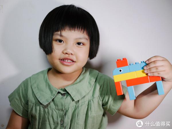 在玩乐中带给孩子更多创意灵感—米兔积木 动物乐园