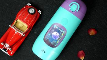 咕噜噜 儿童智能监测互动水杯外观设计(屏幕|挂带|卡扣|杯盖)