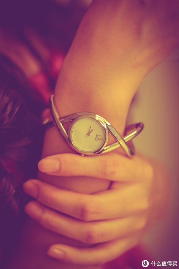 在Ashford商城买的表转眼就戴了四年:Calvin Klein Enlace K2L23126 女士时装腕表晒单