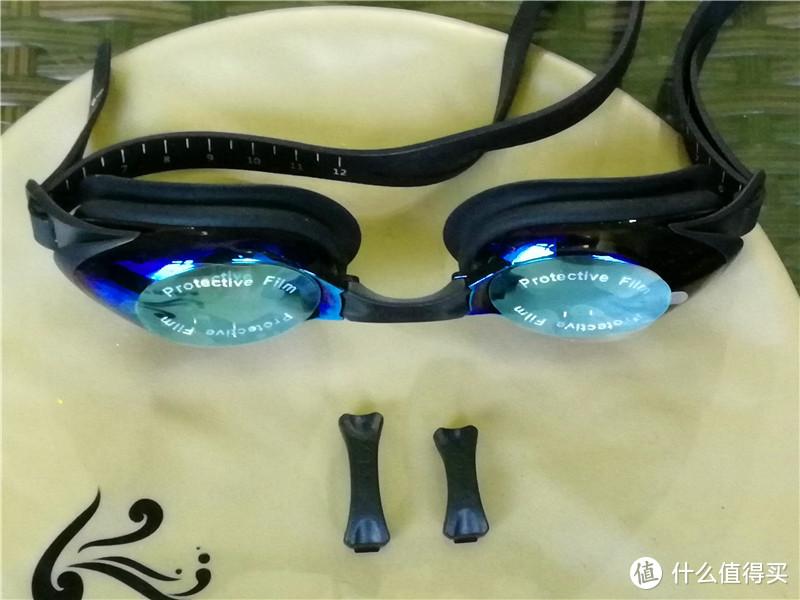 给你一个清晰的水世界—云麦 炫彩防雾泳镜组合套装体验评测