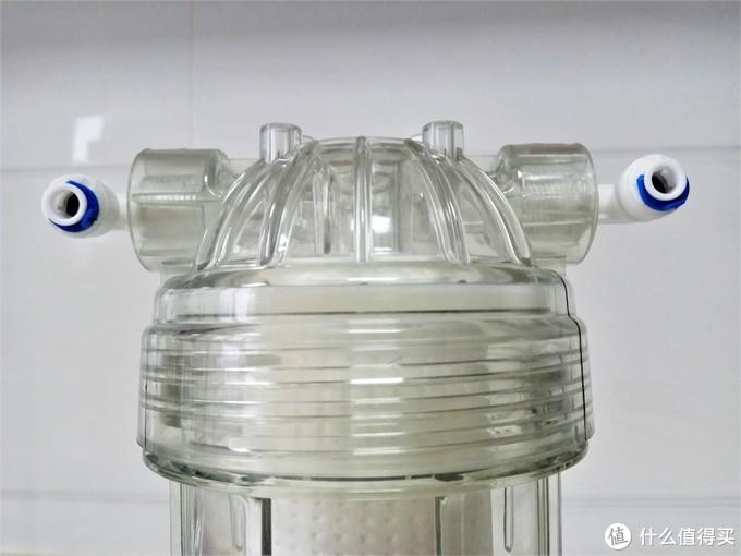 延长净水器滤芯寿命我有妙招:前置滤瓶加装记