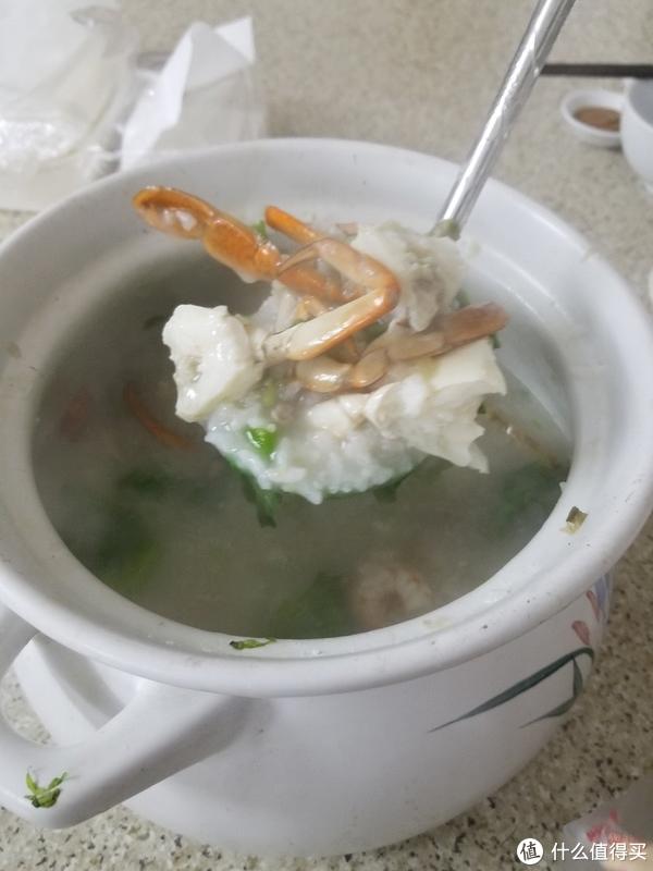 虾蟹排骨粥