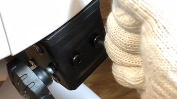 黑白调 HDNY077 电脑椅安装展示(底座 靠背 扶手 坐垫 调节杆)
