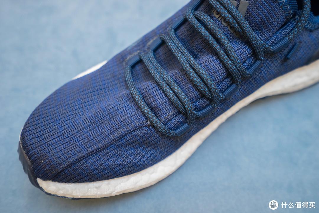 脚下生风,脚底漏风:adidas 阿迪达斯 Pureboost 2.0 Clima China 中性跑鞋 神秘蓝晒单