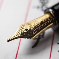 写乐 sailor 11-2524/2521 21K钢笔外观展示(笔尖 笔帽)