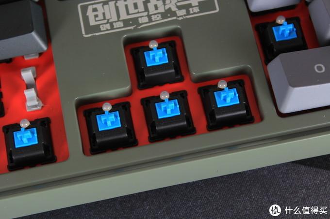 青轴红光免驱动:TT定制版游戏键盘创世战车入手体验