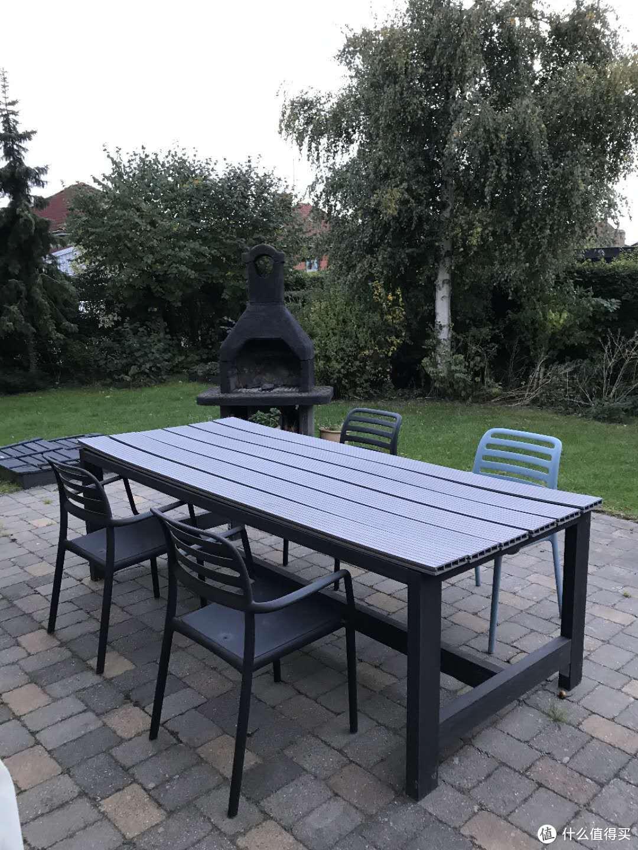 前三天哥本哈根的民宿--户外餐桌