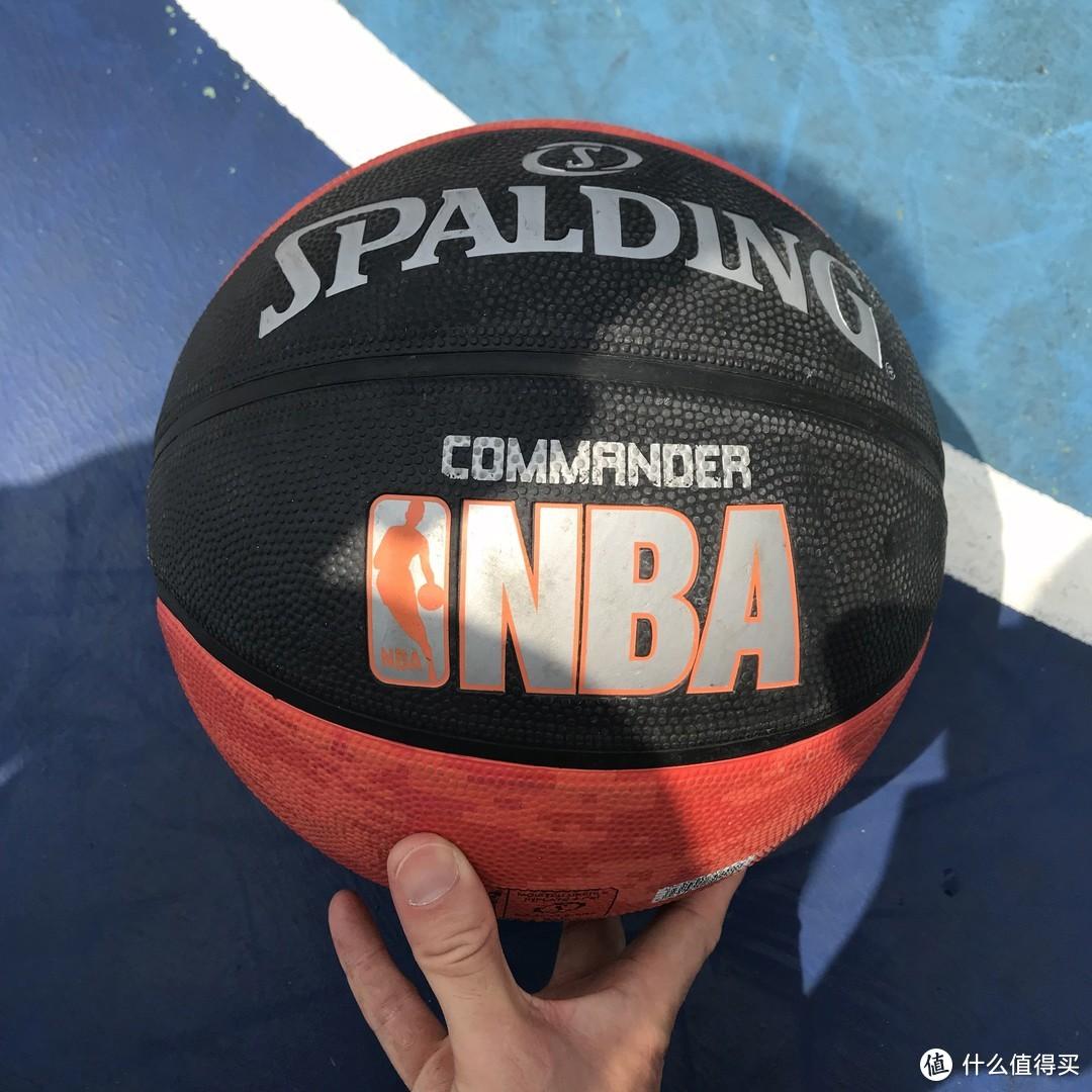 性价比!Spalding 斯伯丁 7号室外耐磨篮球开箱